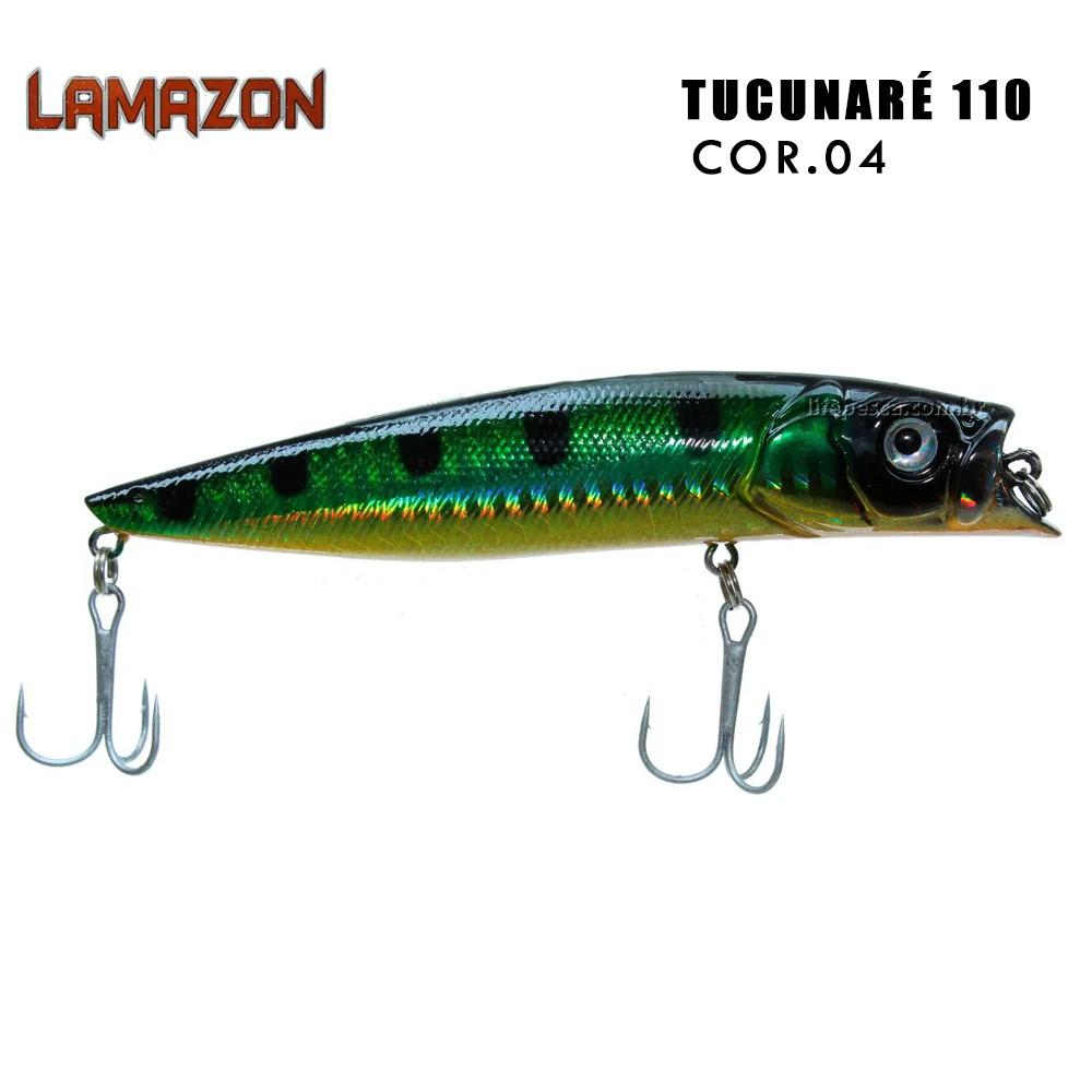 Isca Artificial Lamazon Tucunaré 110 Cor 04