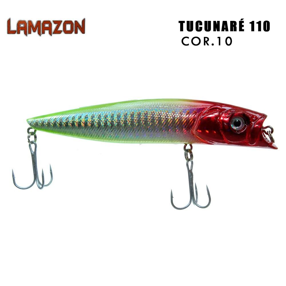 Isca Artificial Lamazon Tucunaré 110 Cor 10