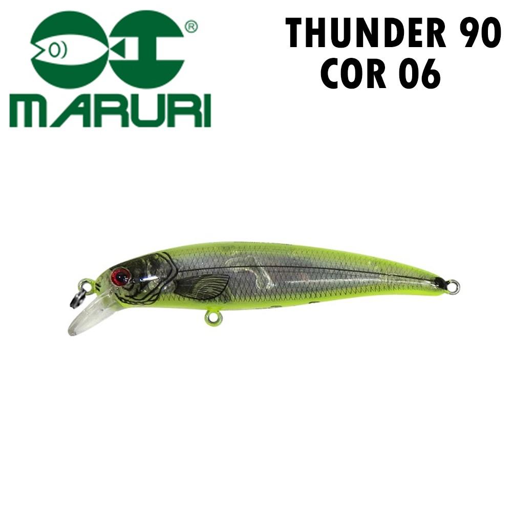 Isca Artificial Maruri Thunder 90 Cor 06