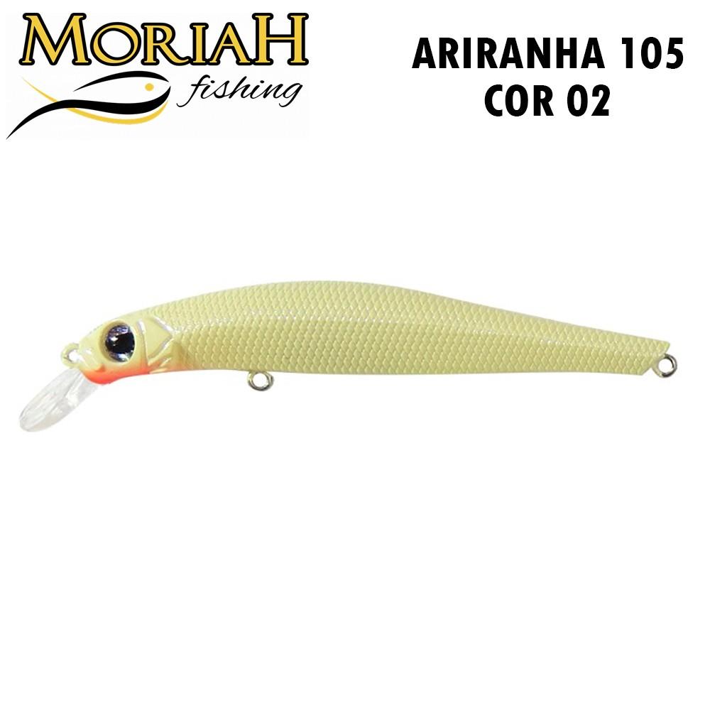 Isca Artificial Moriah Ariranha 105 Cor 02