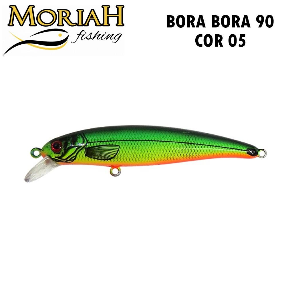 Isca Artificial Moriah Bora Bora Cor 05