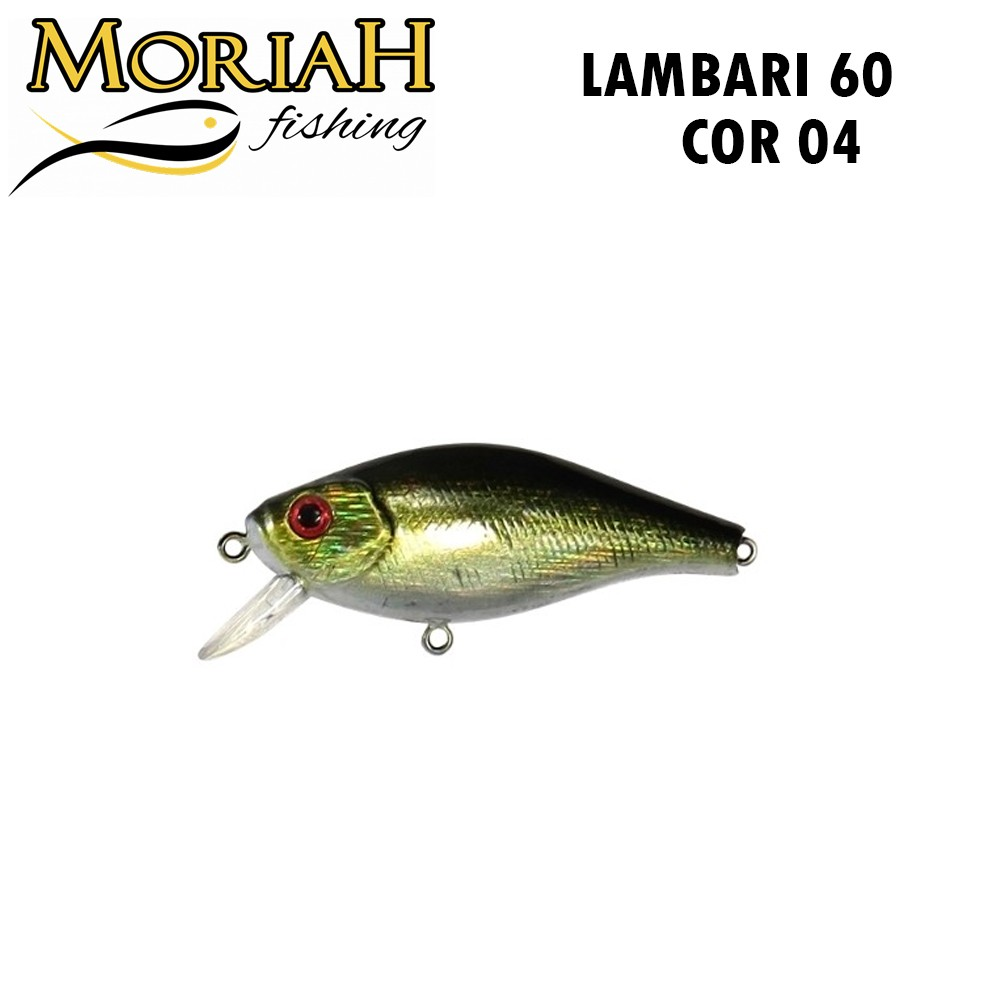 Isca Artificial Moriah Lambari 60 Cor 04