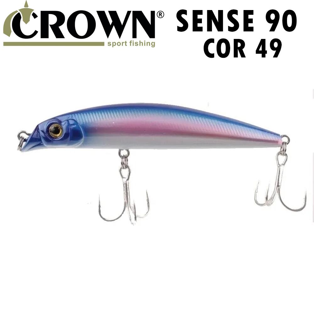 Isca Artificial Crown Sense 90 Cor 49