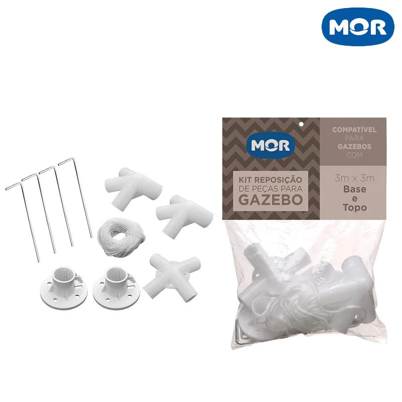 Kit Conexões para Gazebo - Mor