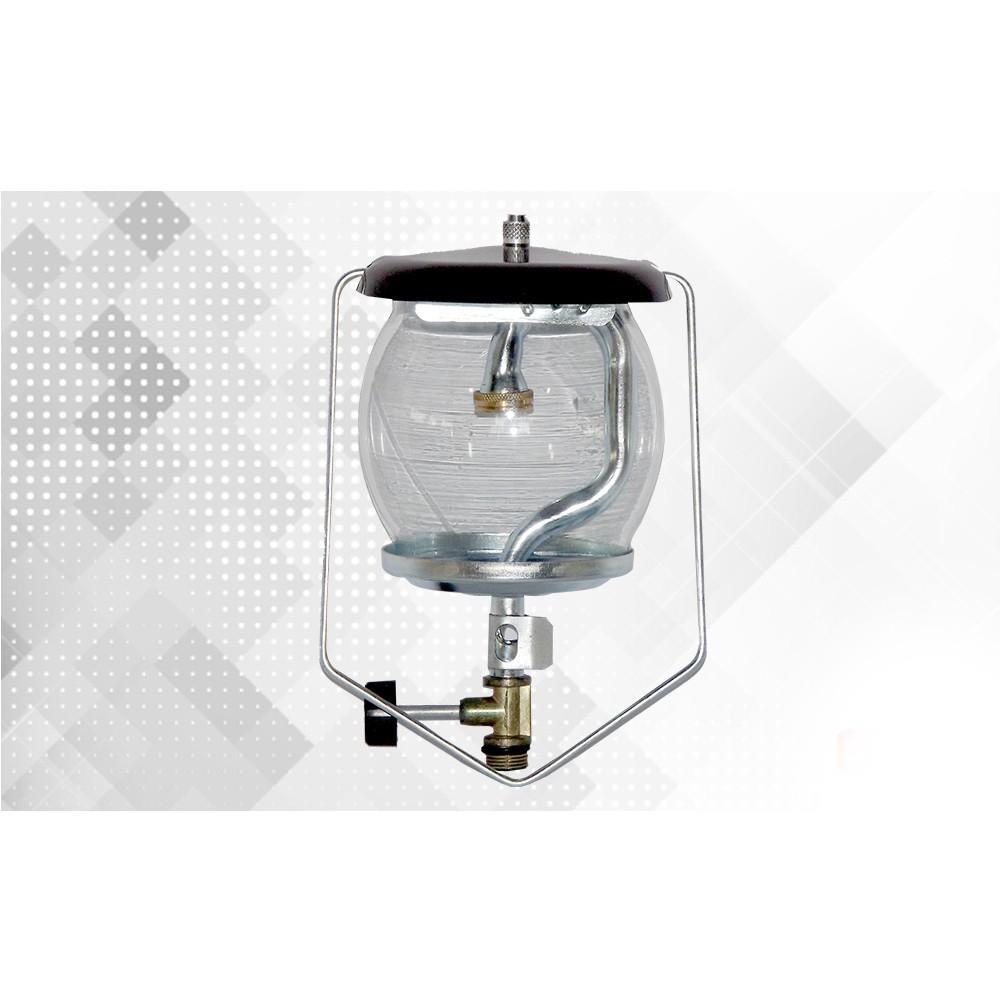 Lampião a Gás Camper de Vidro com Rosca Grossa