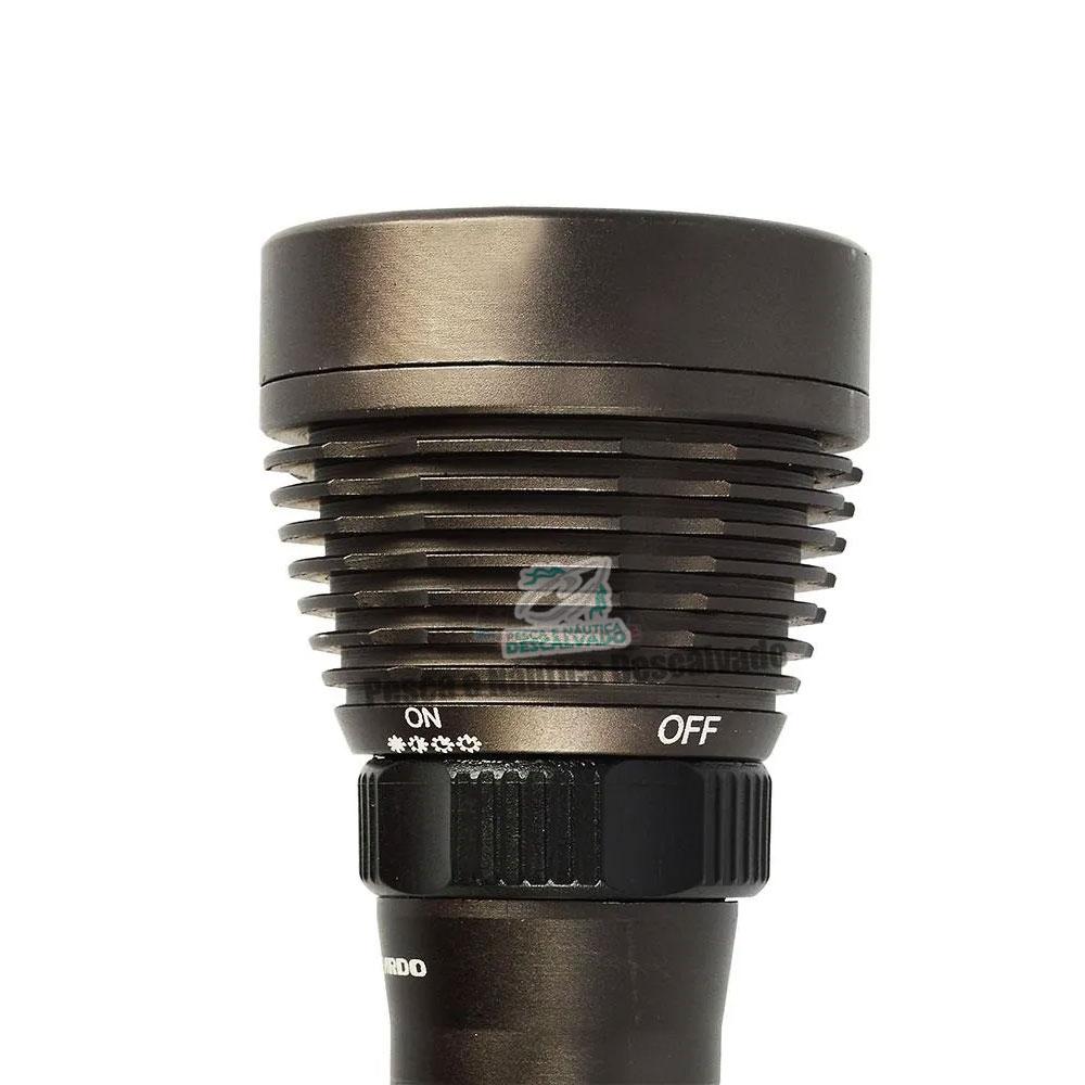 Lanterna de Mergulho Bali 350 Recarregável - Guepardo
