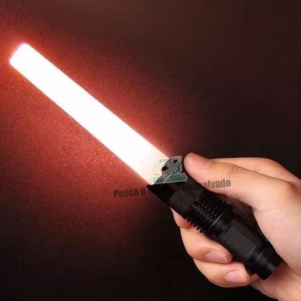 Lanterna Recarregável - GB-8468 B -  Power Style