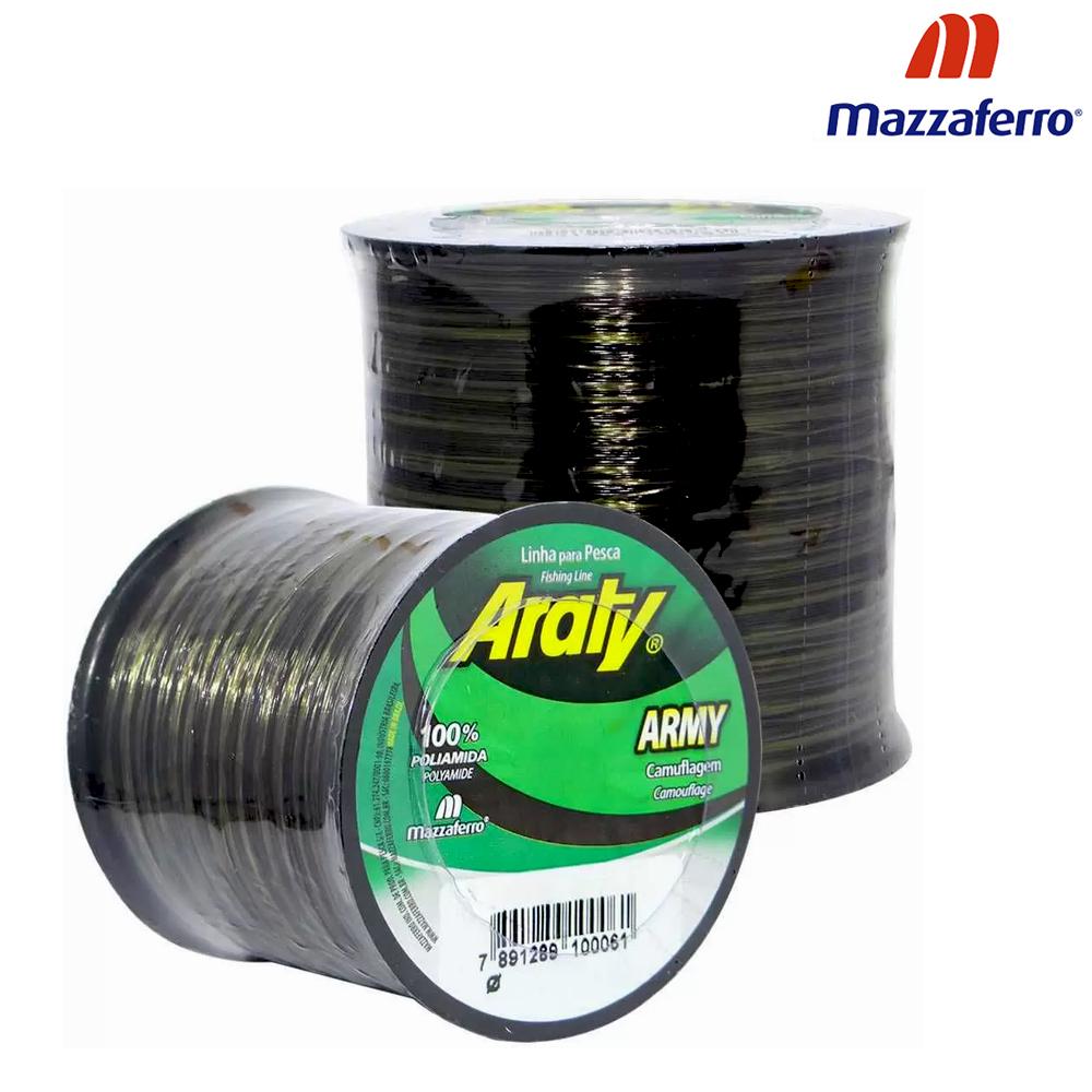 Linha Army Araty 719 M 0,40mm Bicolor - Mazzaferro