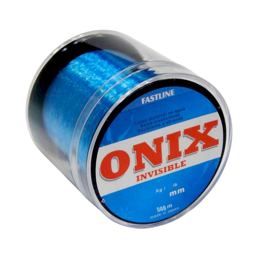 Linha Fastline Onix 0,260mm 500 M Azul