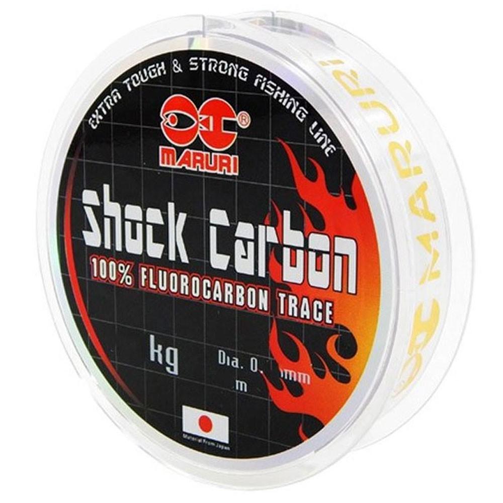 Linha Fluorocarbono Shock Carbon 29 mm 20 M - Maruri
