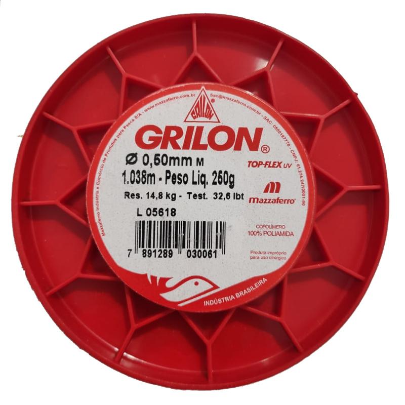 Linha Grilon Multicolor 0,50mm 1.038 Metros