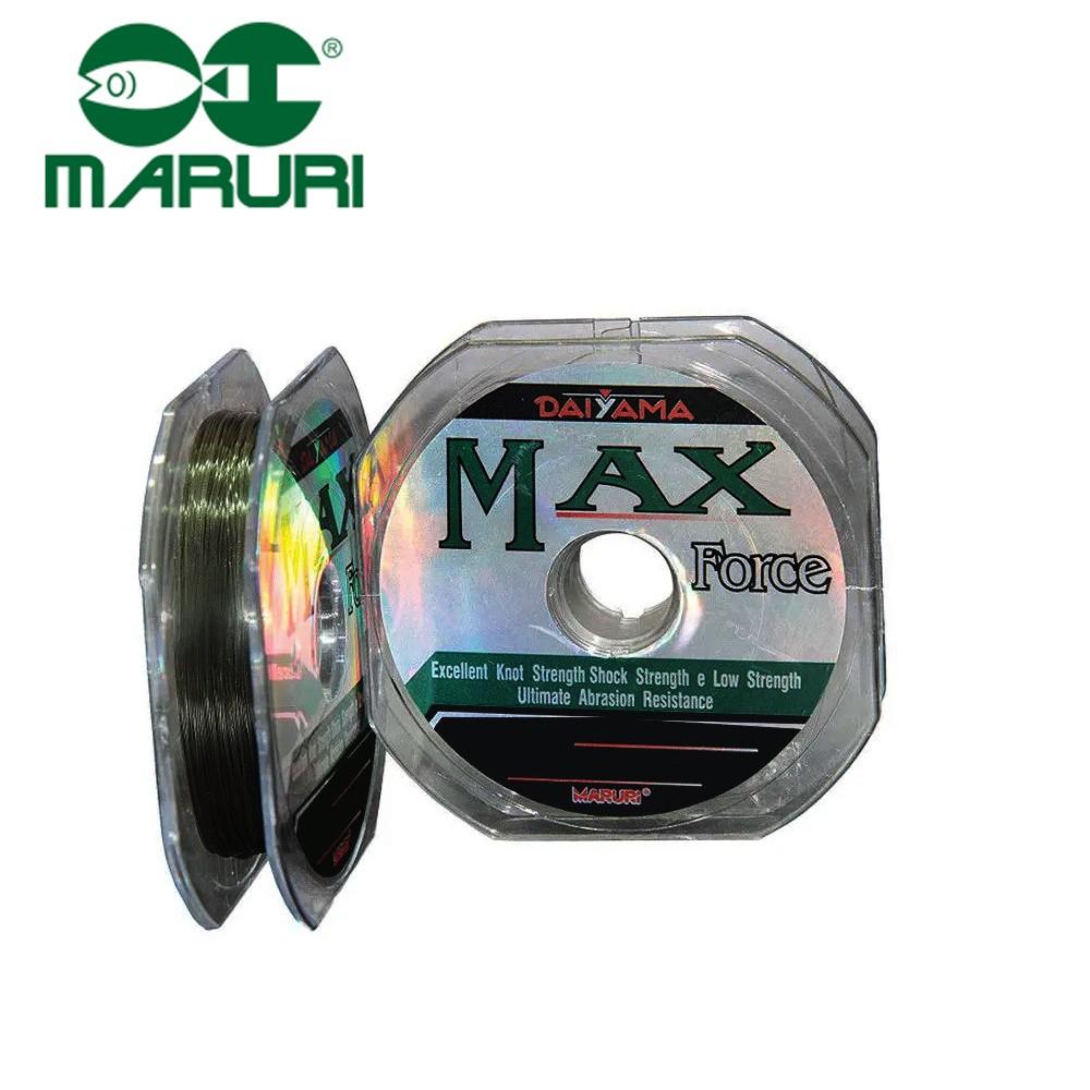Linha Mono. Max Force 0,57mm 63lbs 100M - Maruri