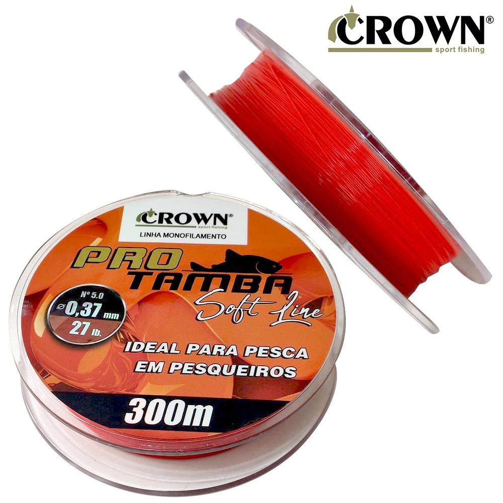 Linha Mono. Pro Tamba Soft 300M 37mm - Crown