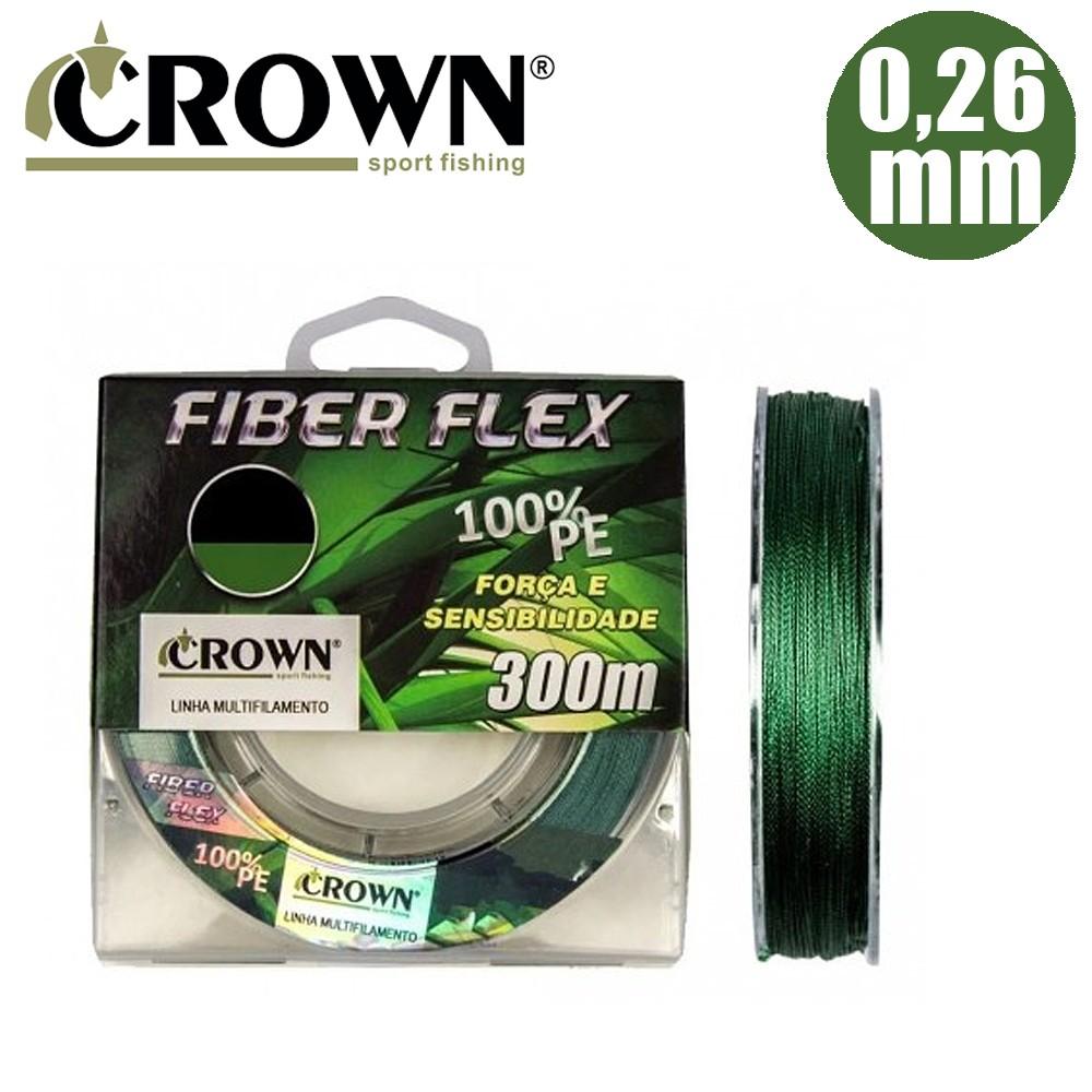 Linha mult fiber flex 0,26mm 300m