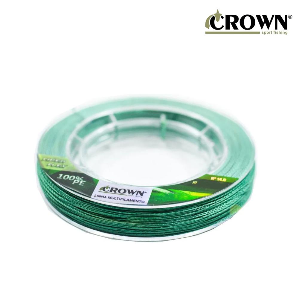 Linha Mult. Fiber Flex 4X 0,18mm 300M - Crown