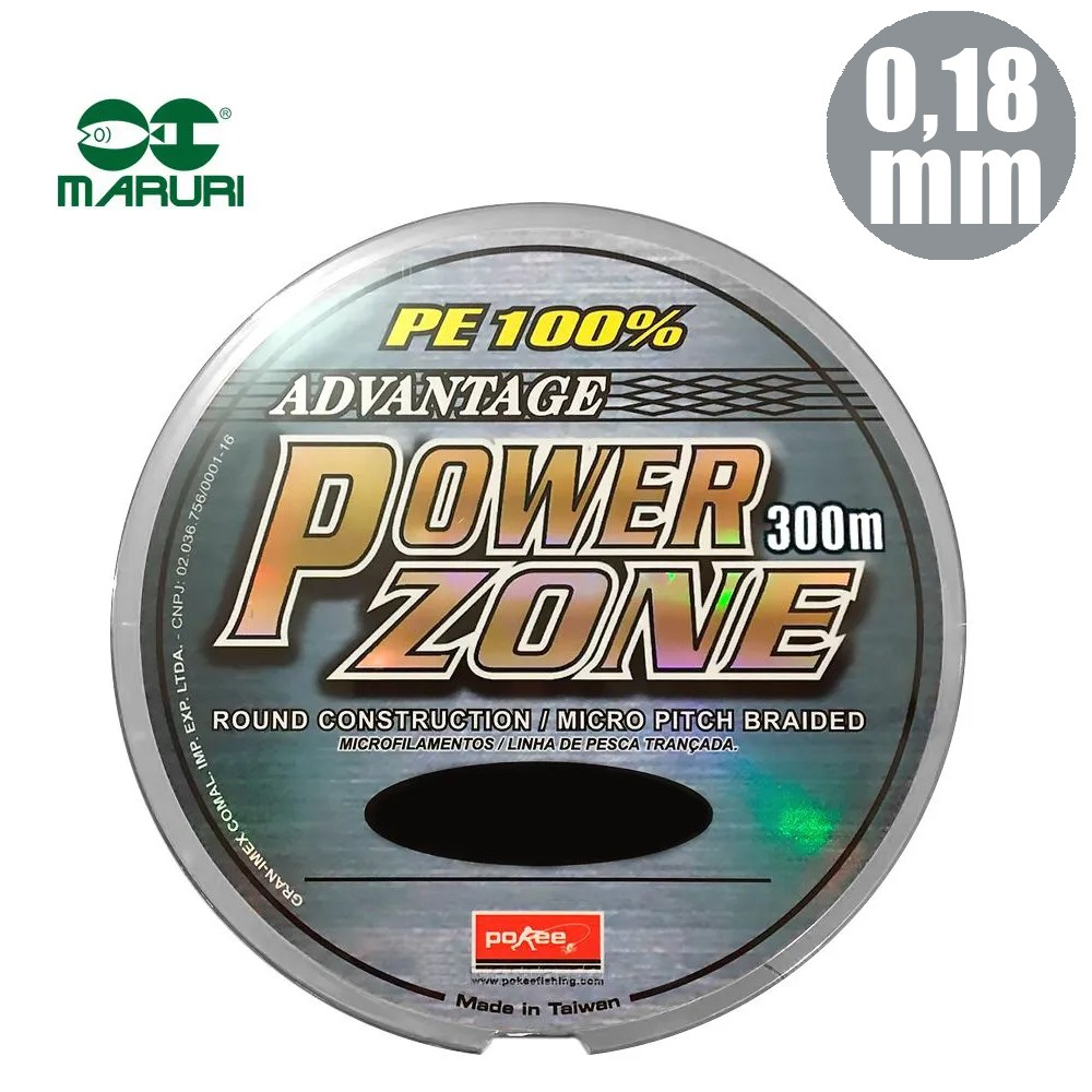 Linha mult power zone 29lb 0,18mm