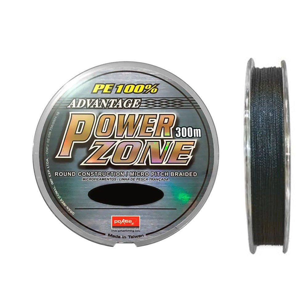 Linha Multifilamento Power Zone 0,24mm 150M - Maruri