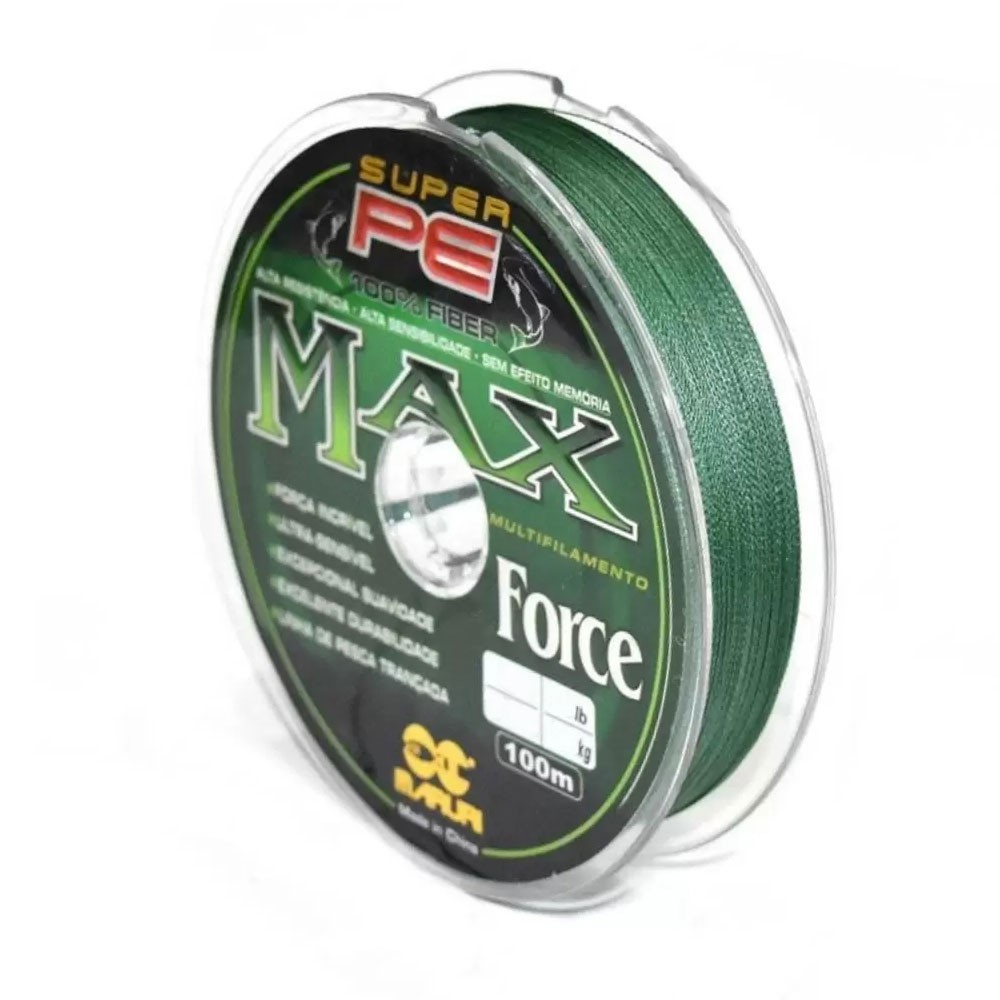 Linha Multifilamento Max Force 35mm 100M - Maruri