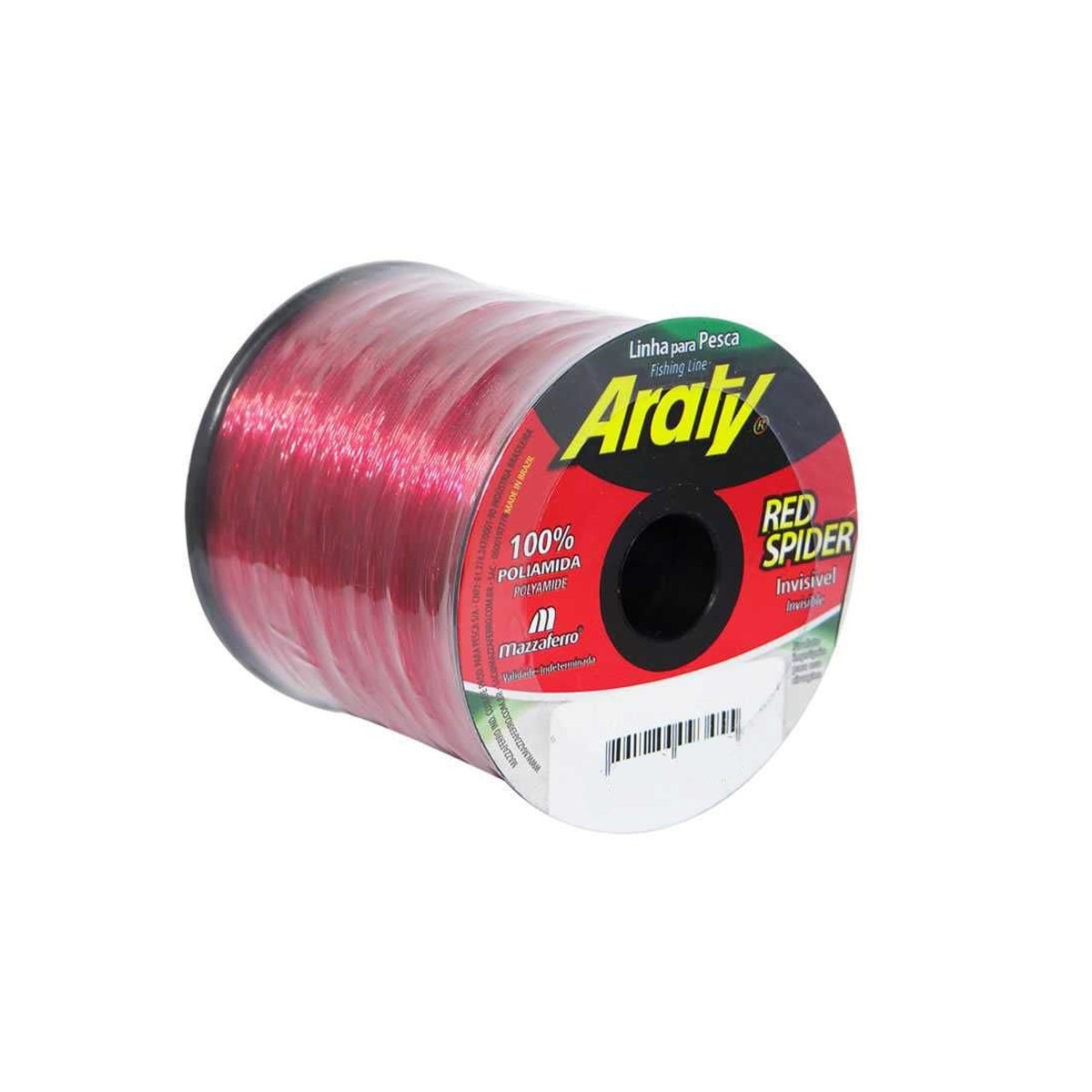 Linha red spider 1240 mts 0,30mm invisÍvel - araty