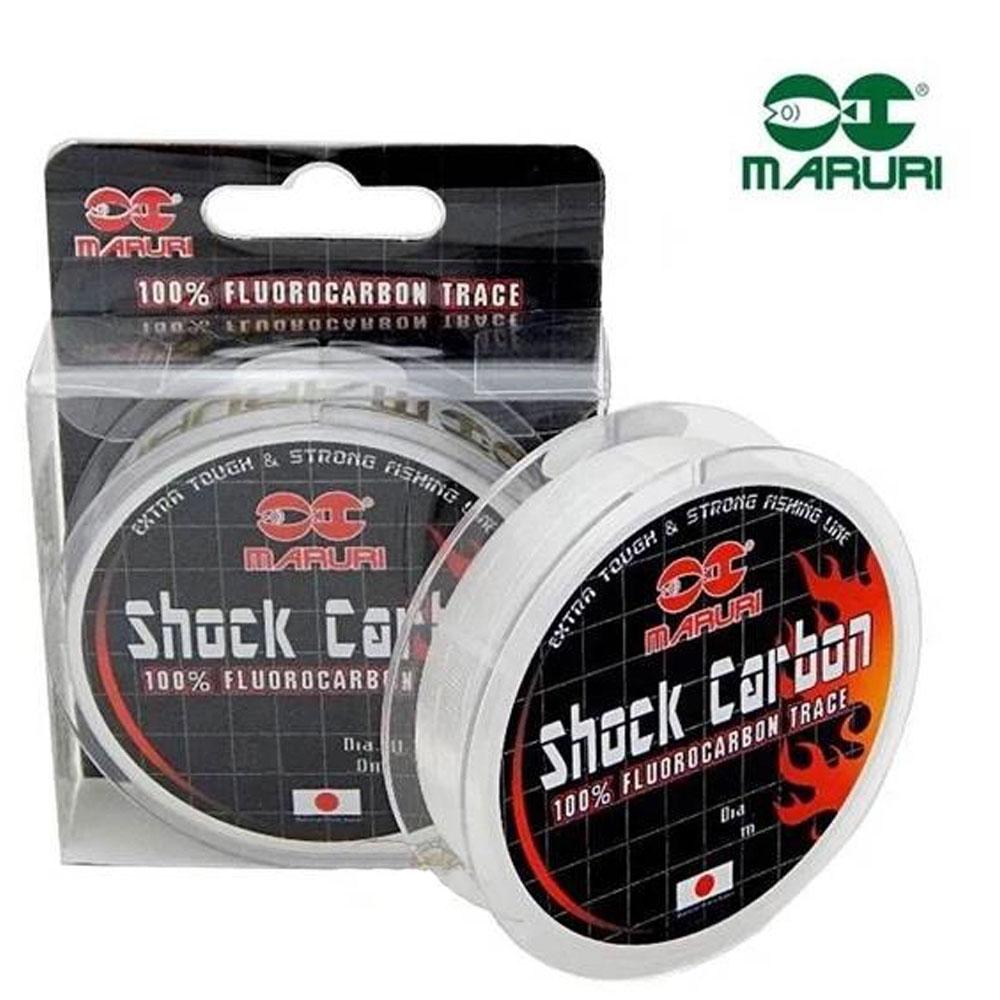 Linha Fluorocarbono Shock Carbon 39 mm 50 M - Maruri