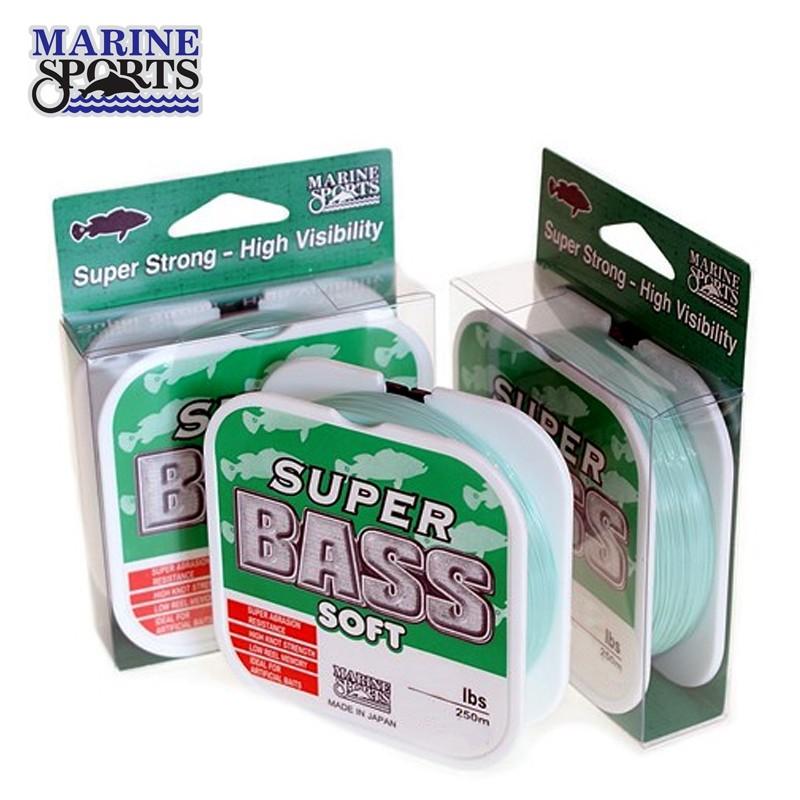 Linha Super Bass Soft Marine Sports 40mm 250M Verde