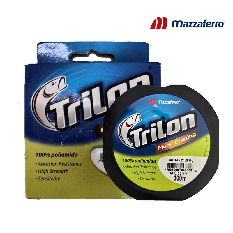 Linha Trilon Fluor Coating 55mm 30M Mazzaferro