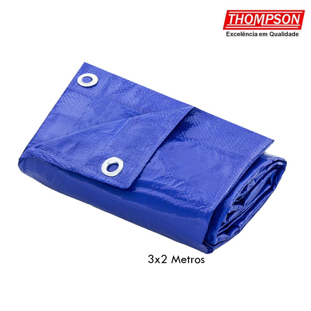 Lona de Polietileno Azul 3x2 Metros - Thompson