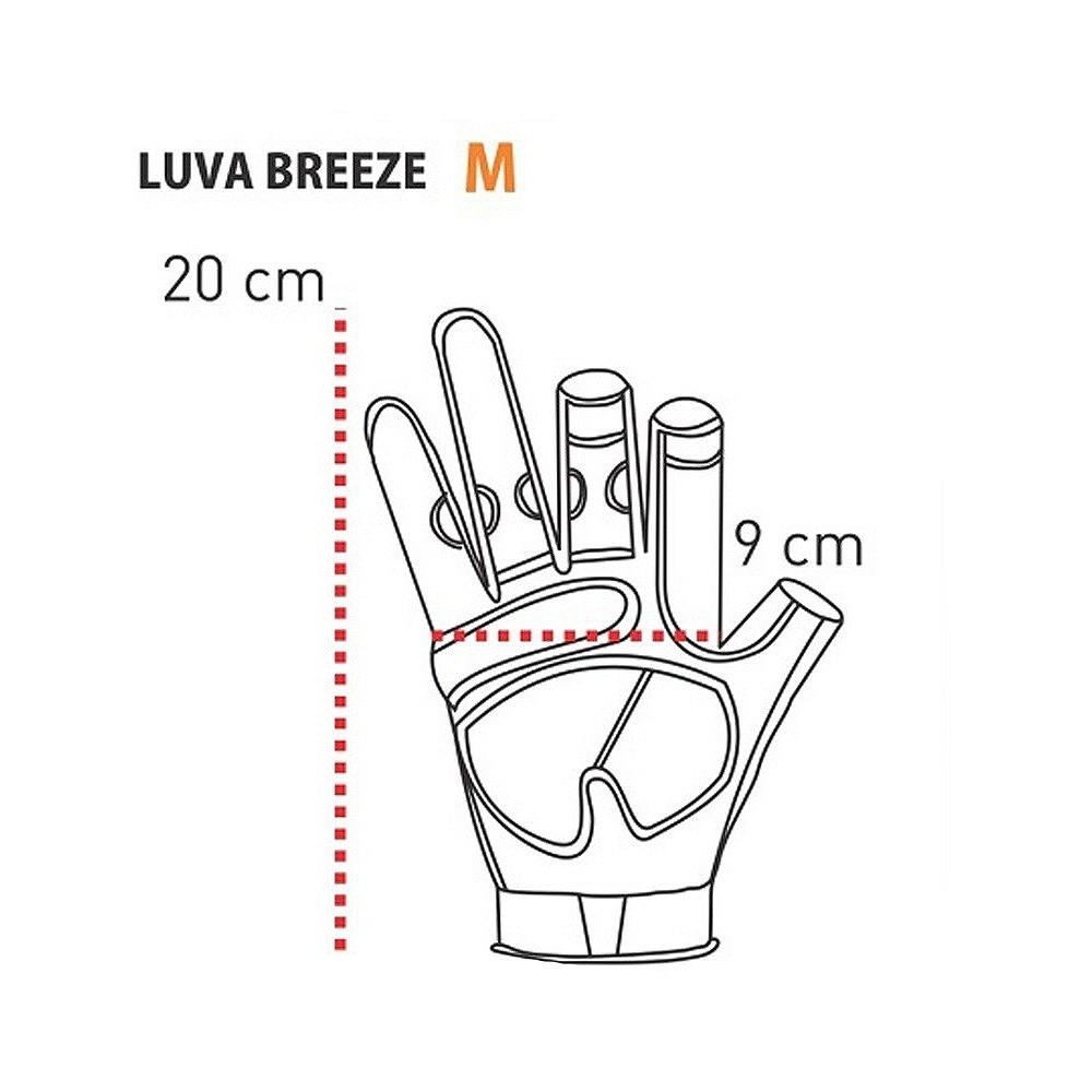 Luva Breeze Guepardo com Proteção Solar UV  Black G