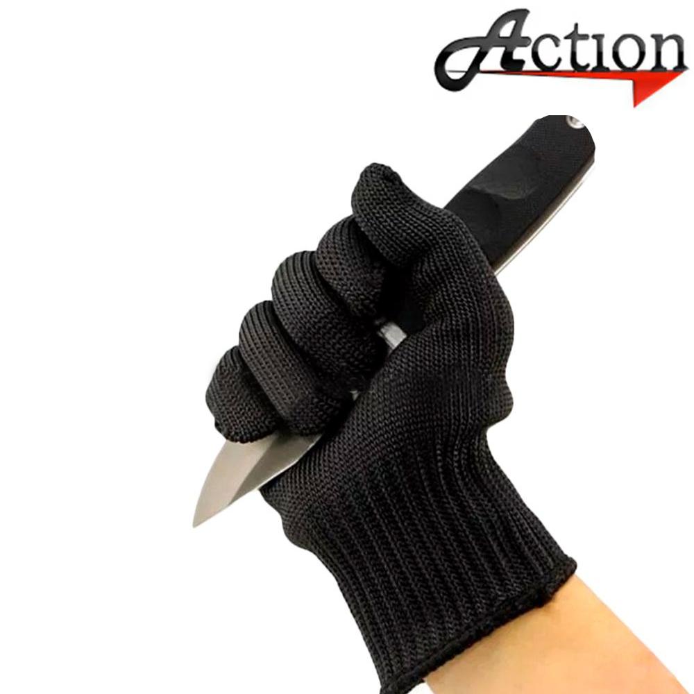 Luva Malha de Aço - Action