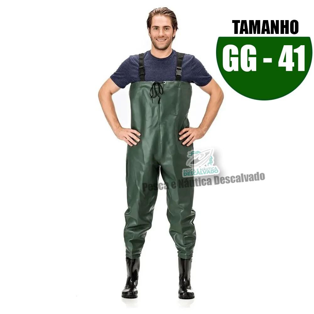 MACACAO BOTA LONGA PVC N 41 TAM GG