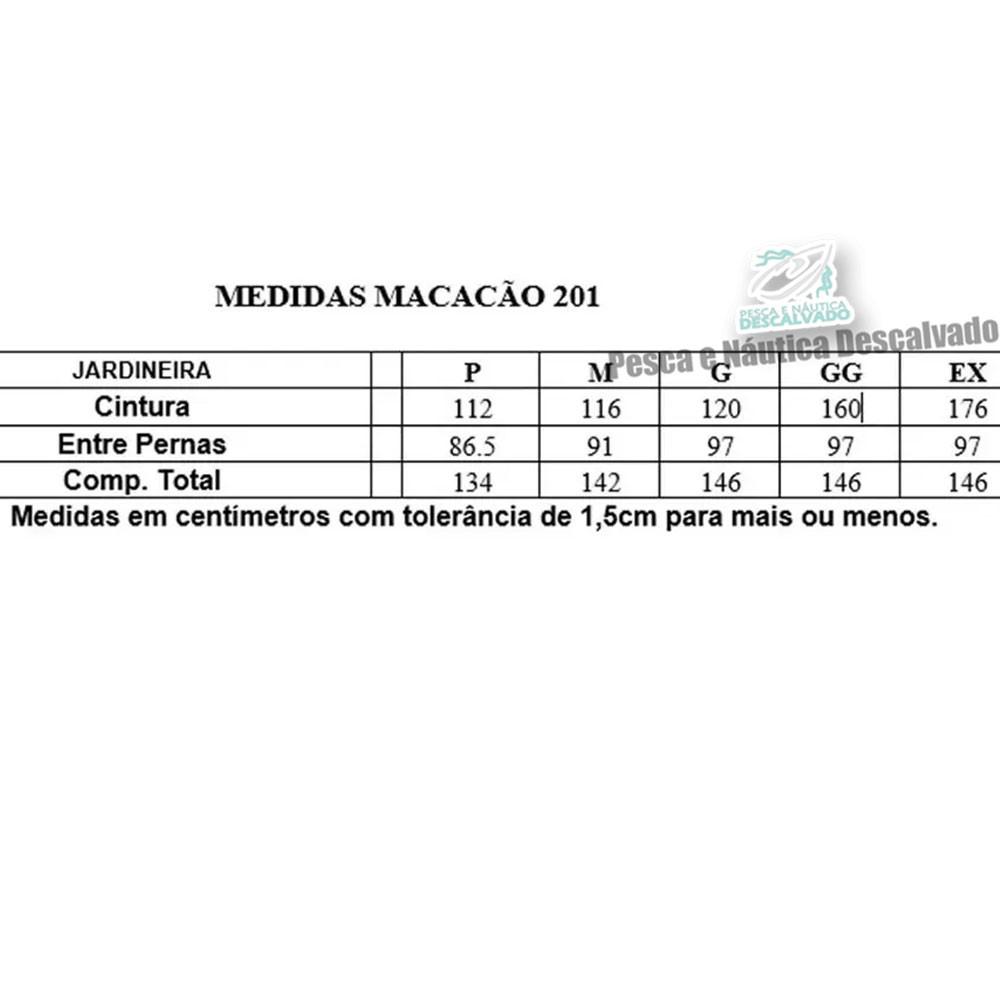 MACACAO BOTA LONGA PVC N 42 TAM G