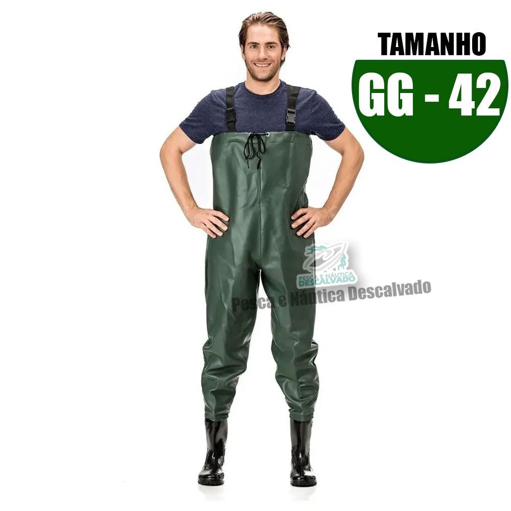 MACACAO BOTA LONGA PVC N 42 TAM GG