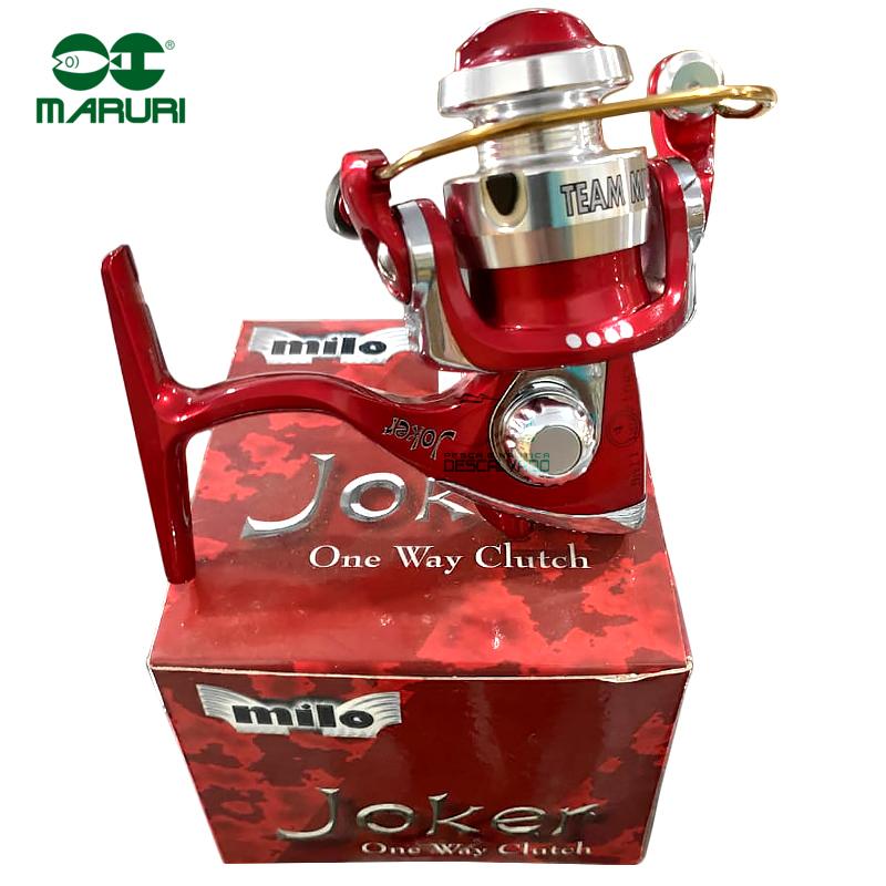 Molinete Milo Joker Vermelho - Maruri