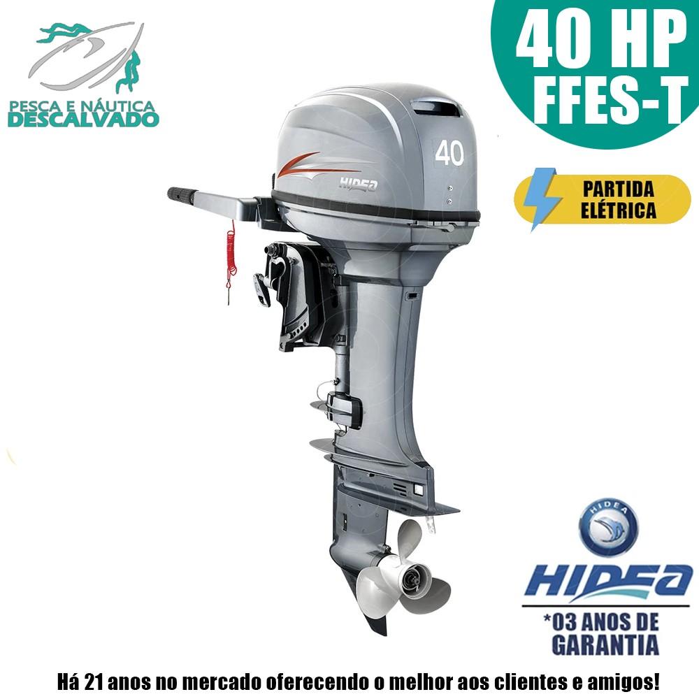 MOTOR DE POPA HIDEA 2 TEMPOS 40HP FFES-T (ELÉTRICA)