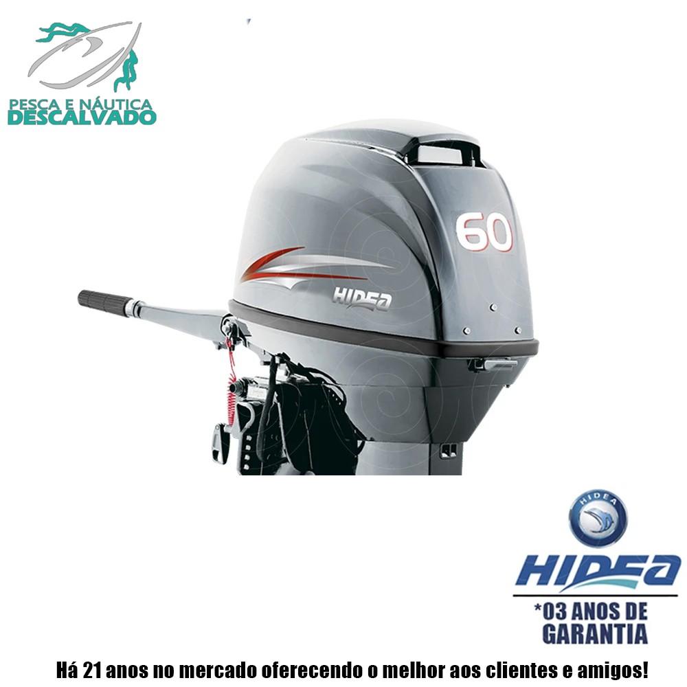 MOTOR DE POPA HIDEA 2 TEMPOS 60HP FFEL-T (ELÉTRICA)
