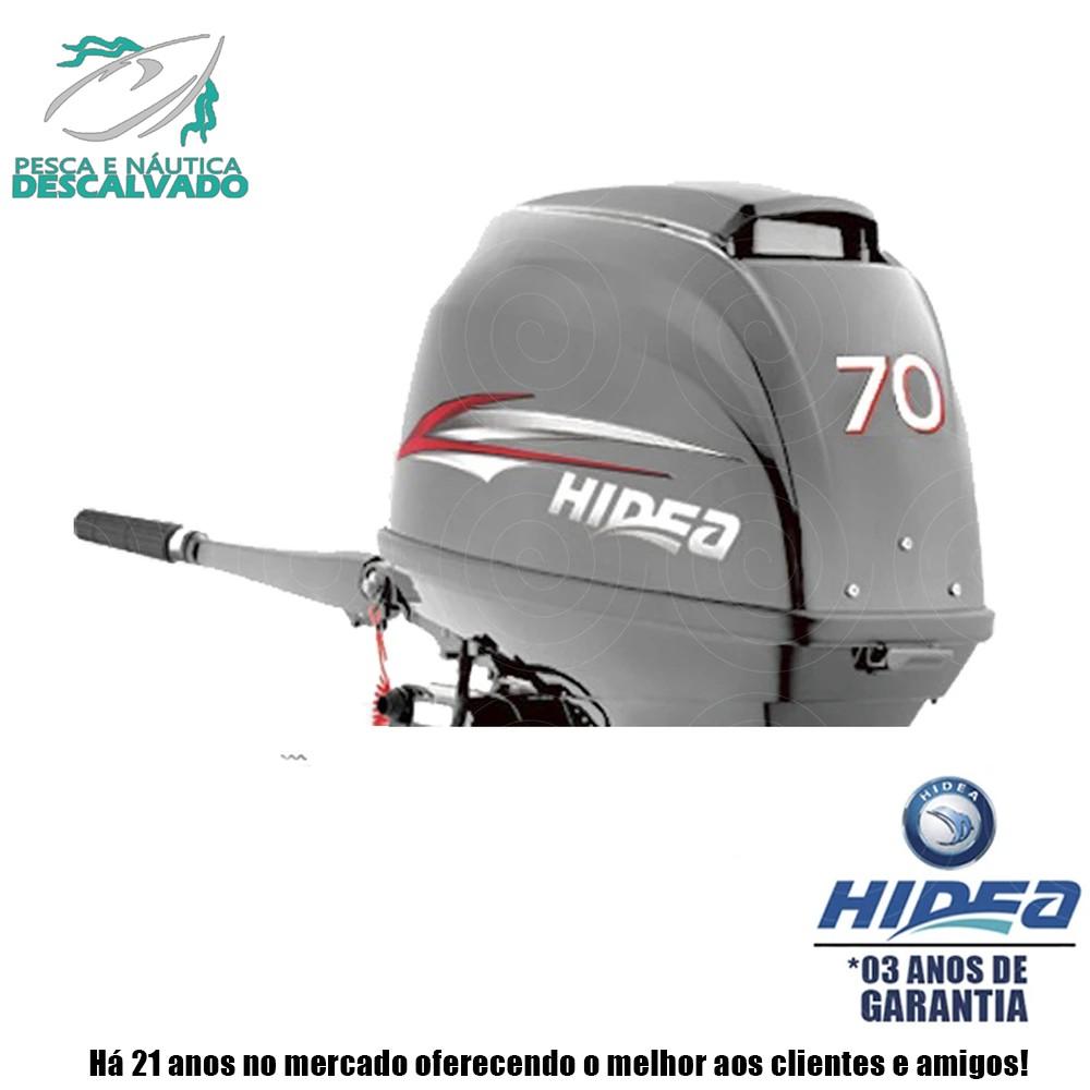 MOTOR DE POPA HIDEA 2 TEMPOS 70HP FFEL-T (ELÉTRICA)