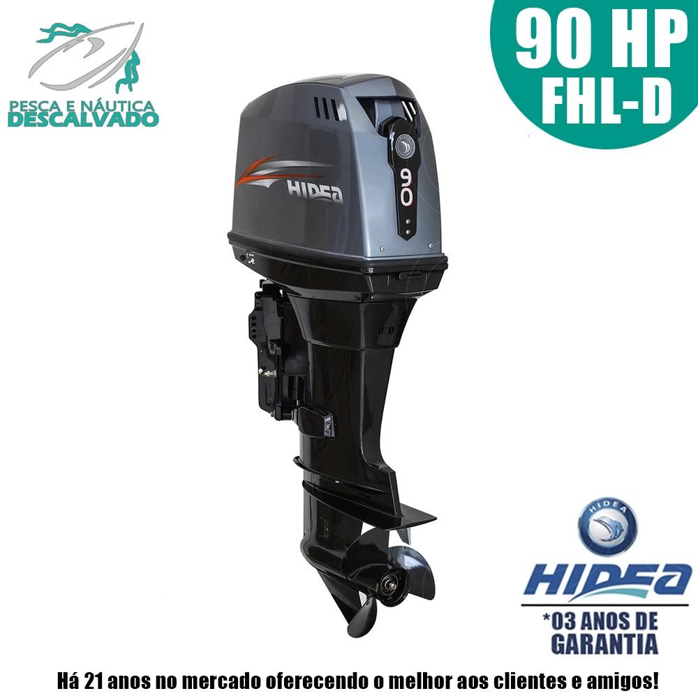 MOTOR DE POPA HIDEA 2 TEMPOS 90HP FHL-D ( MANUAL)