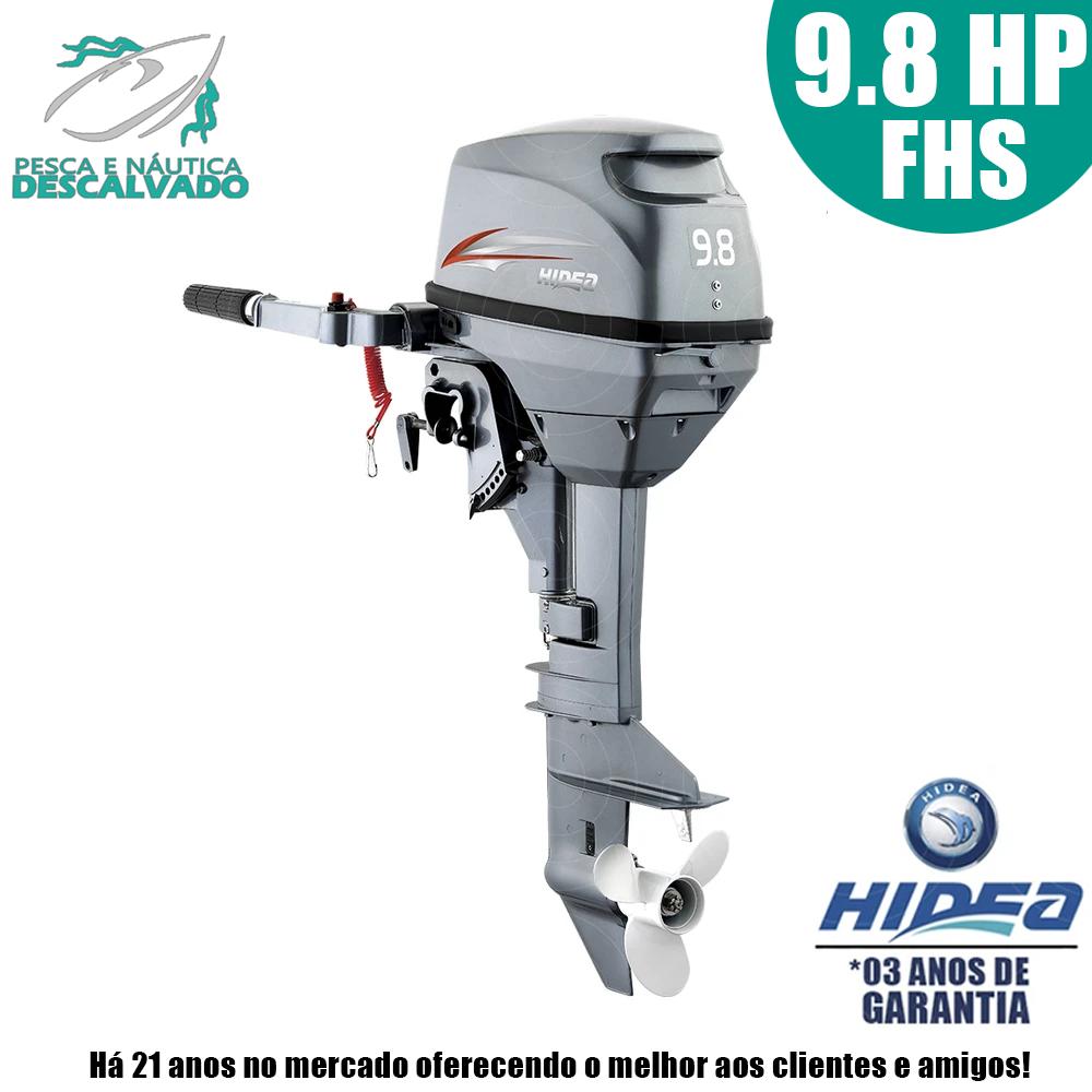 MOTOR DE POPA HIDEA 2 TEMPOS 9.8HP FHS (MANUAL)