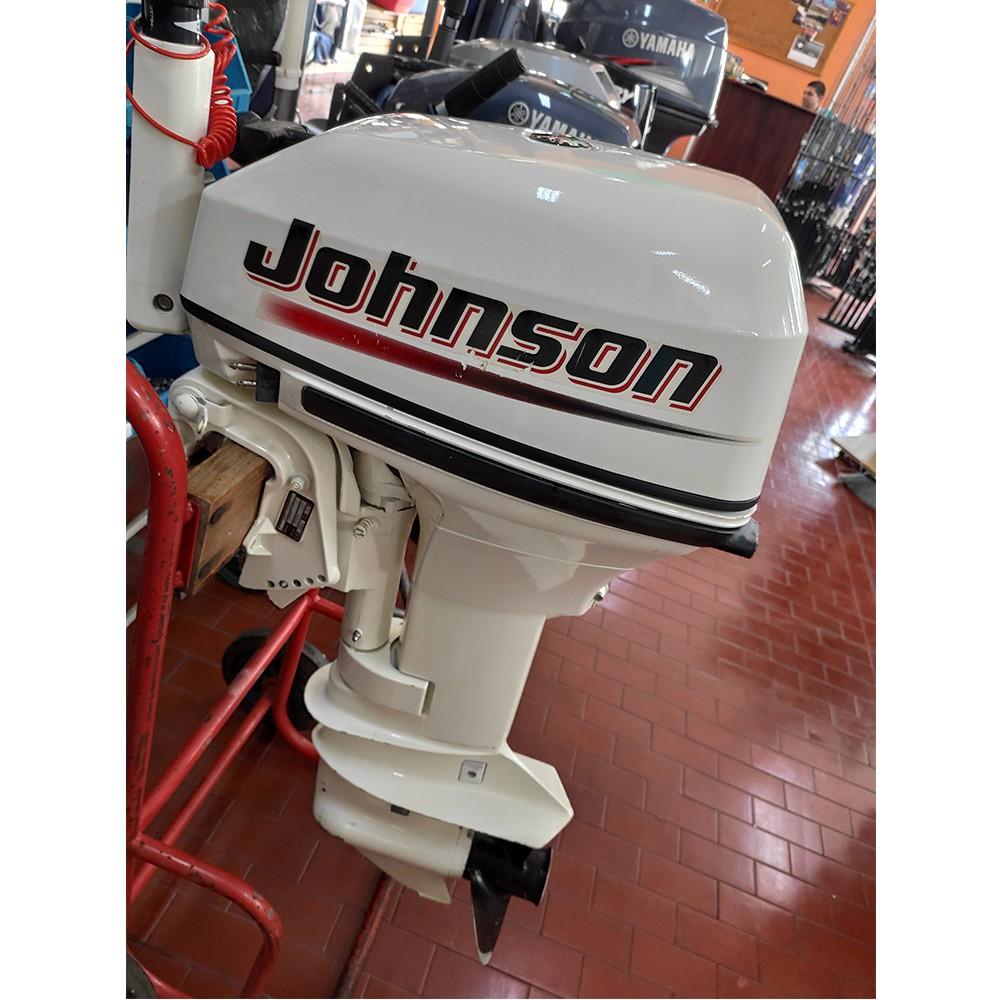 Motor de Popa Johnson 2 Tempos 15 HP Semi-Novo