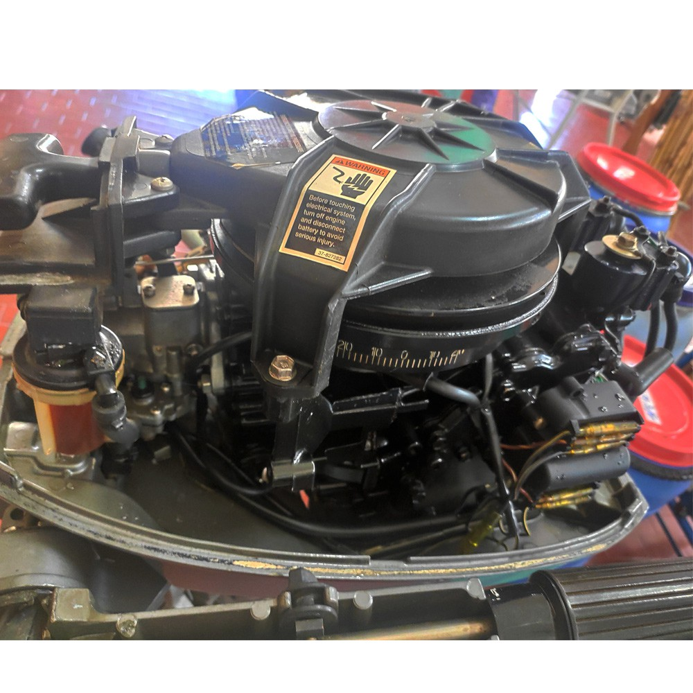 Motor De Popa Mariner 15 Hp 2 Tempos - Semi-novo
