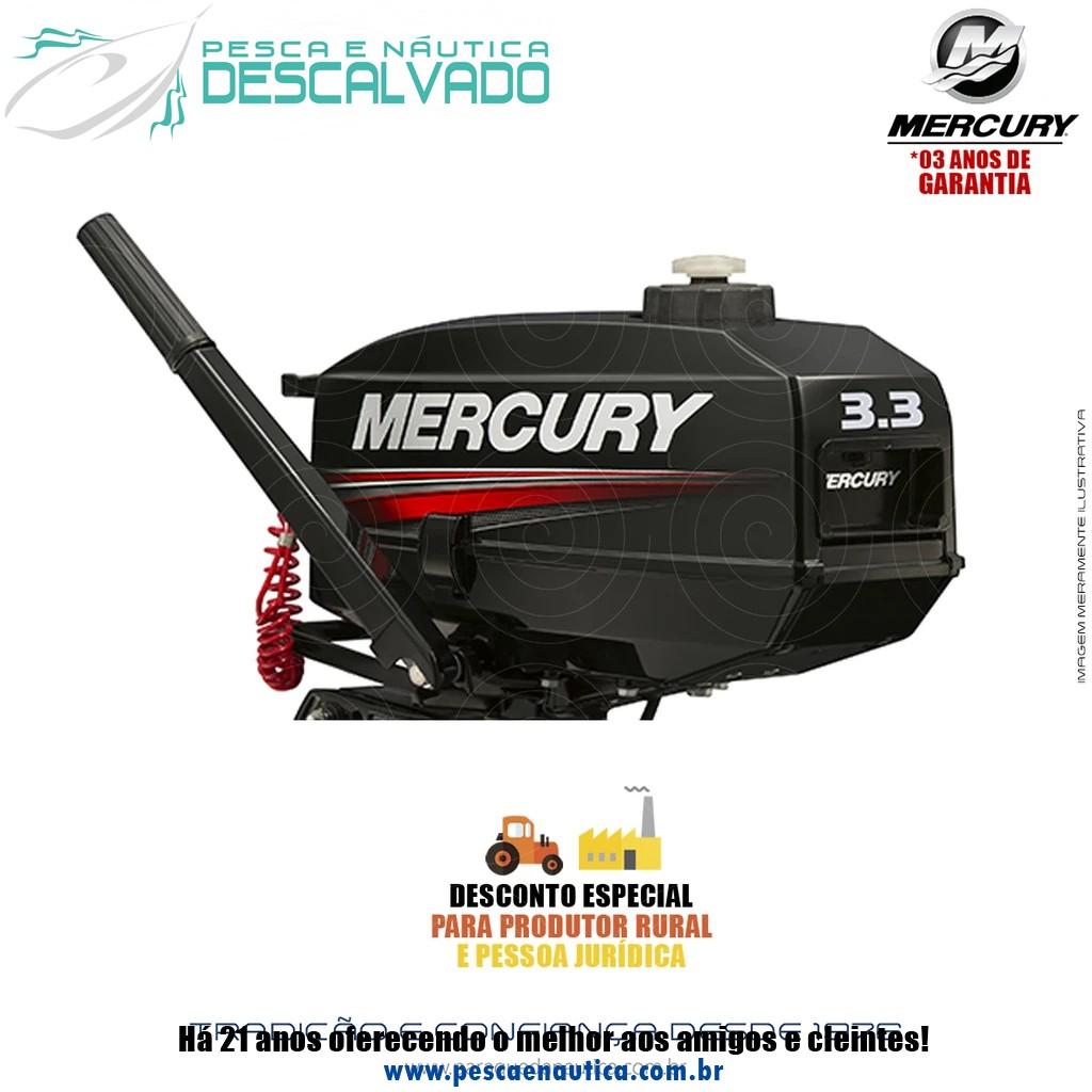 Motor De Popa Mercury 2 Tempos 3.3HP M Japão