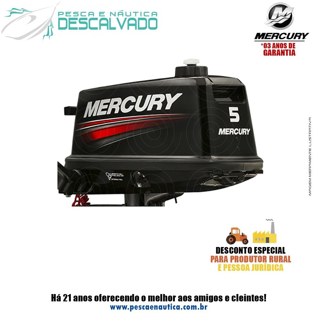 Motor De Popa Mercury 2 Tempos 5HP M Japão