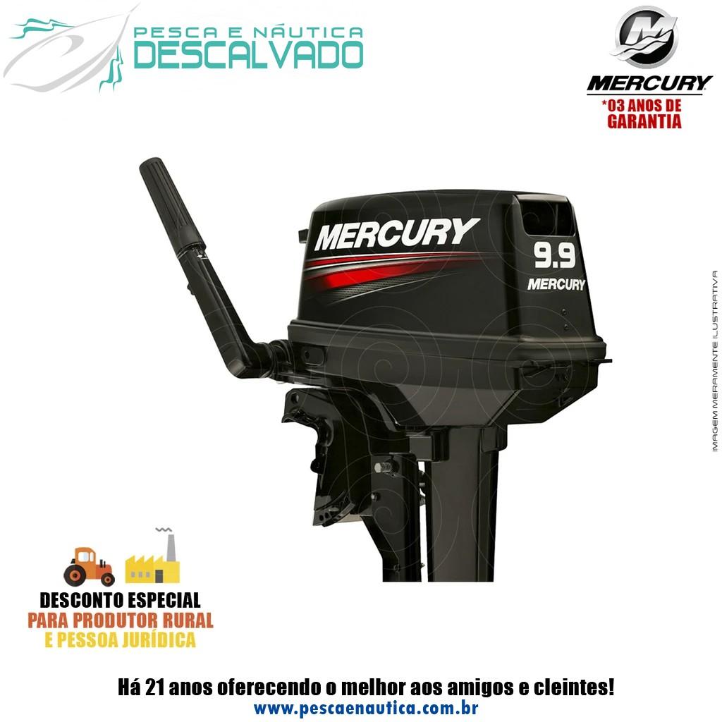 Motor De Popa Mercury 2 Tempos 9.9HP M Japão