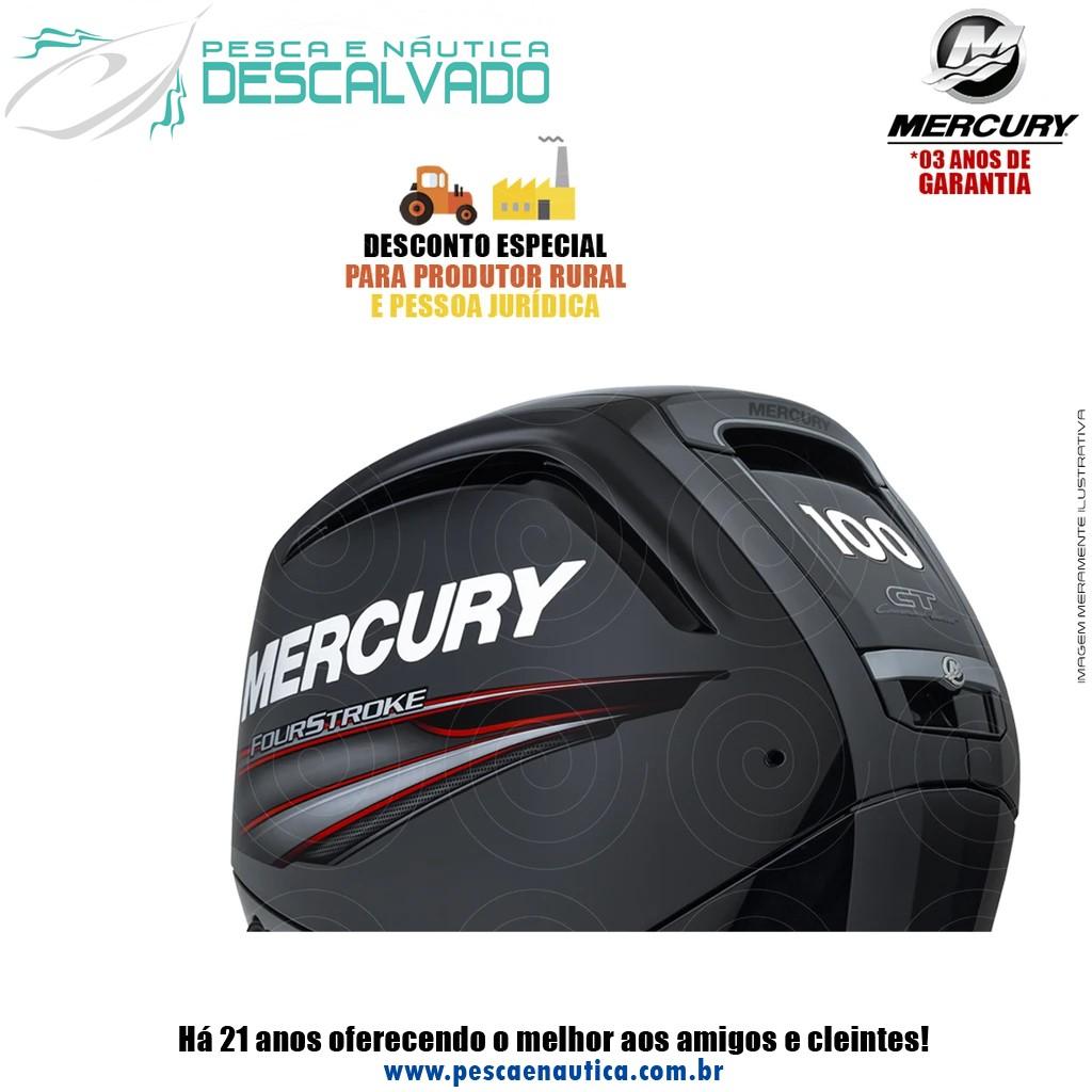 Motor De Popa Mercury 4 Tempos 100HP ELPT EFI CT