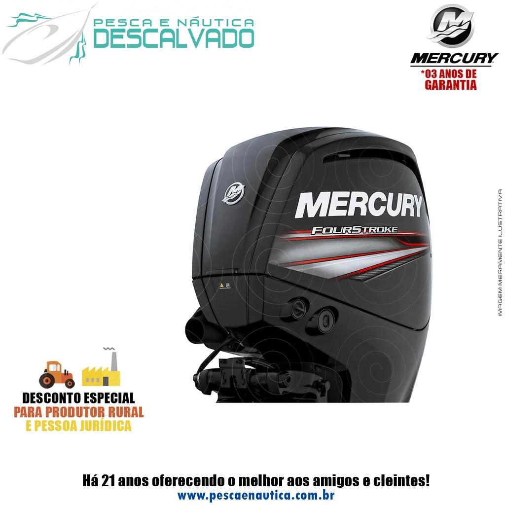 Motor De Popa Mercury 4 Tempos 115HP ECXLPT EFI CT