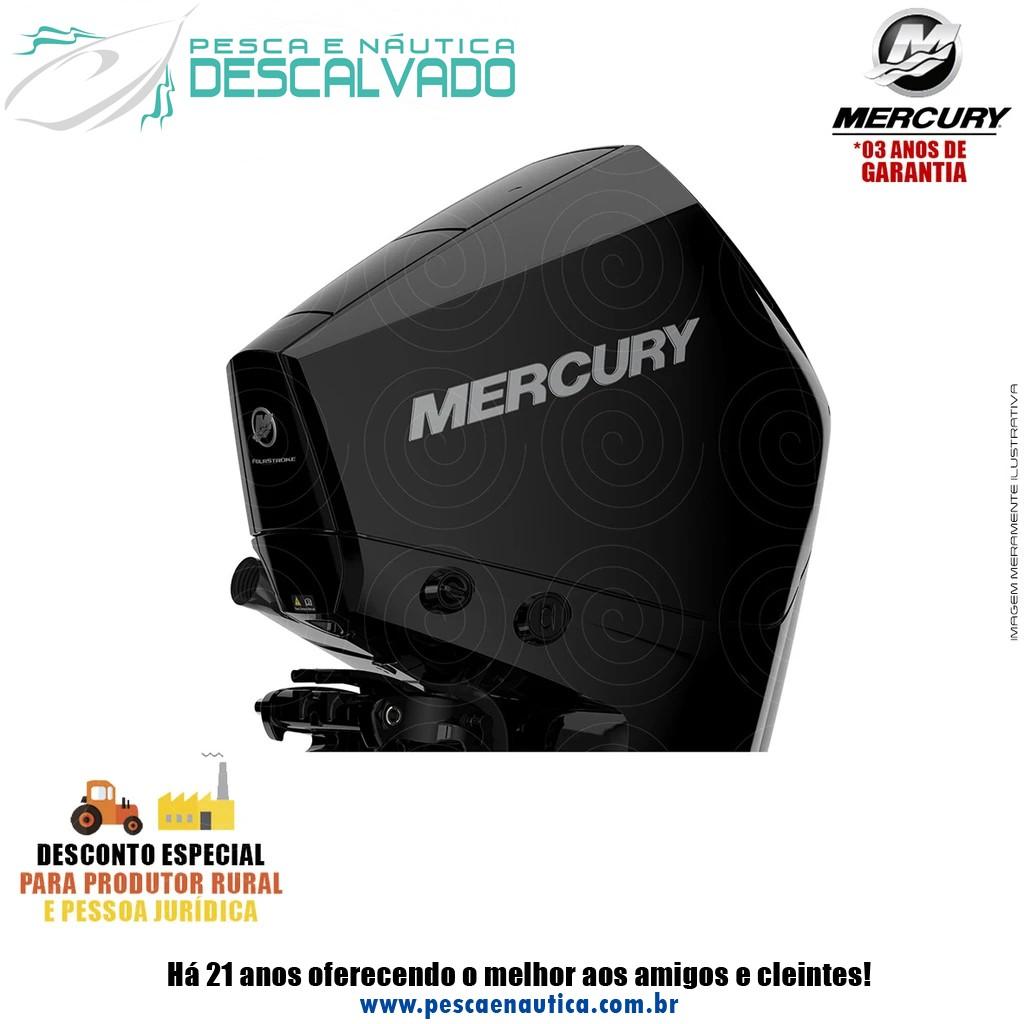 Motor De Popa Mercury 4 Tempos 225HP XL 3.4 EFI V6 DTS (COMANDO ELETRÔNICO)