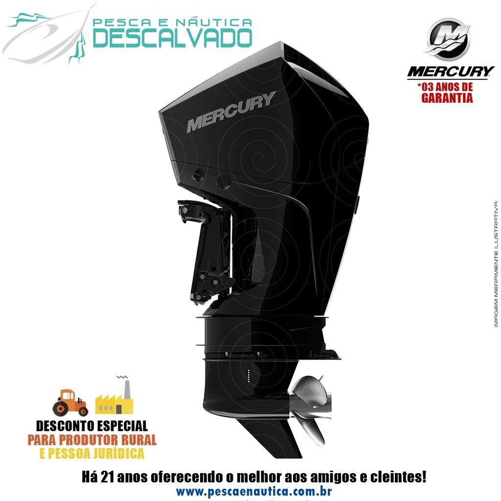 Motor De Popa Mercury 4 Tempos 225HP XL 3.4 EFI V6 MECÂNICO