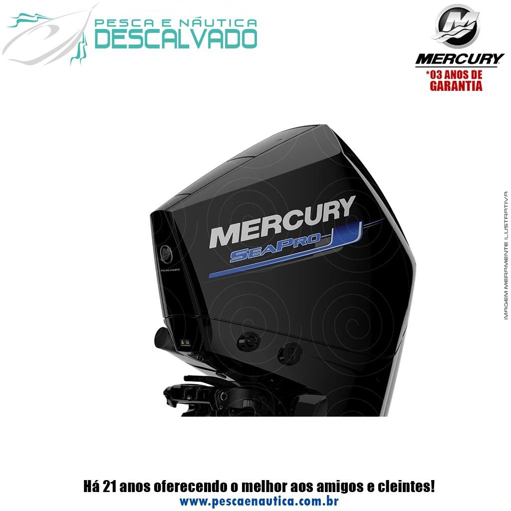 Motor De Popa Mercury 4 Tempos 300HP XL MECÂNICO SEAPRO