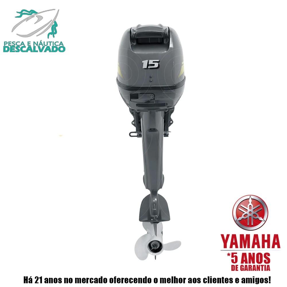 MOTOR DE POPA YAMAHA 2 TEMPOS 15HP GMHS (ELÉTRICA)