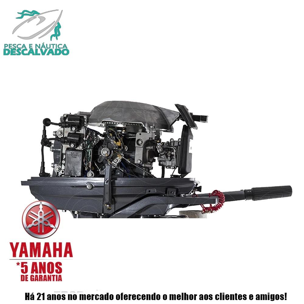 MOTOR DE POPA YAMAHA 2 TEMPOS 30HP HMHS (MANUAL)
